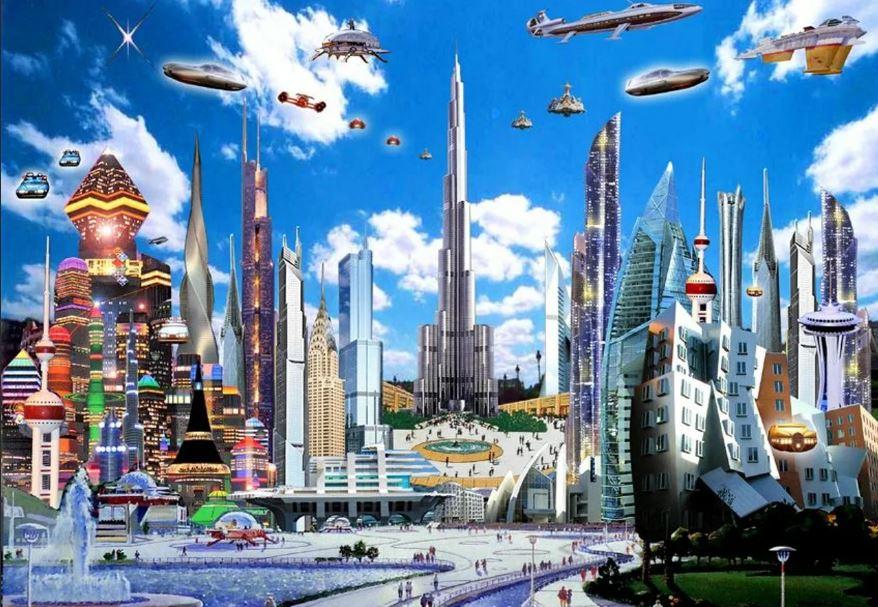Мир будущего (иллюстрация из открытых источников)