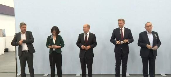 СДПГ заключила договор о коалиции