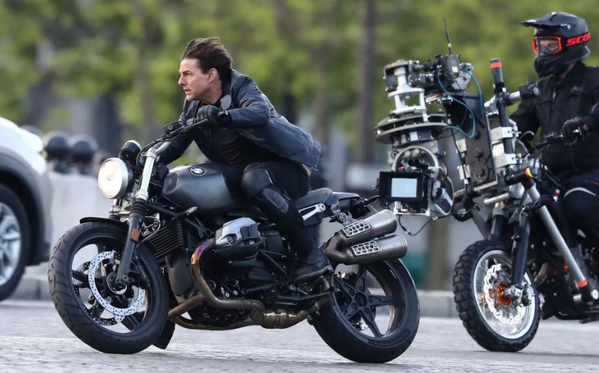 Том Круз на съёмках фильма (иллюстрация из открытых источников)